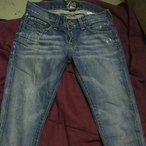 Lucky brand jeans from the Buckle